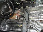 Шумоизоляция Honda Accord 2010 (Фото #4)