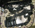 Установка автозвука в Mercedes GLC coupe (Фото #2)