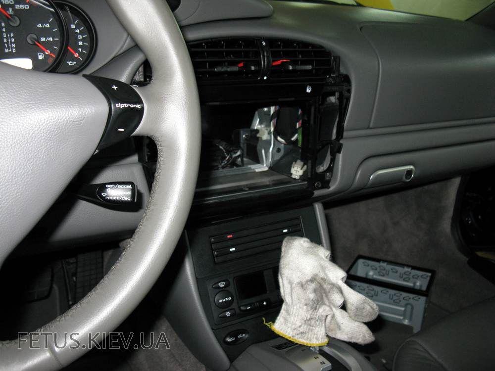 porsche 911 автозвук