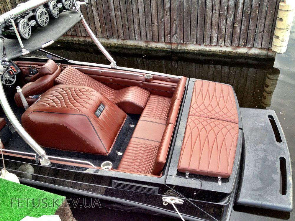 тюнинг лодок кресло