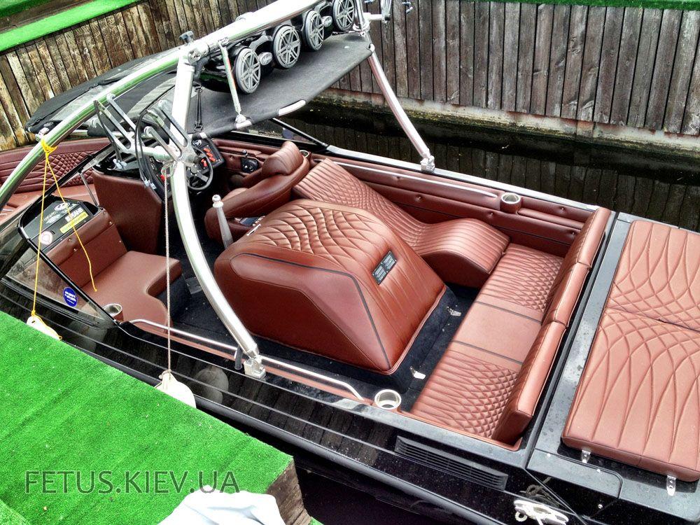 фото салона лодки