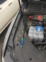Установка сигнализации в Audi Q7 2015 (Фото #4)