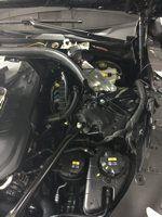 Установка сигнализации в BMW 750xd 2016 (Фото #5)