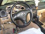 Установка сигнализации в Mazda MX-5 (Фото #1)