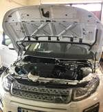 Установка сигнализации в Range Rover Evoque 2017 (Фото #2)